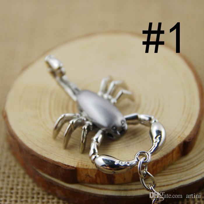 Zinc Alloy Scorpion Keychain Key Ring Fashion Key Chain Pliers Is Moveable Men Lady Gift Craft Souvenir Novelties C4L