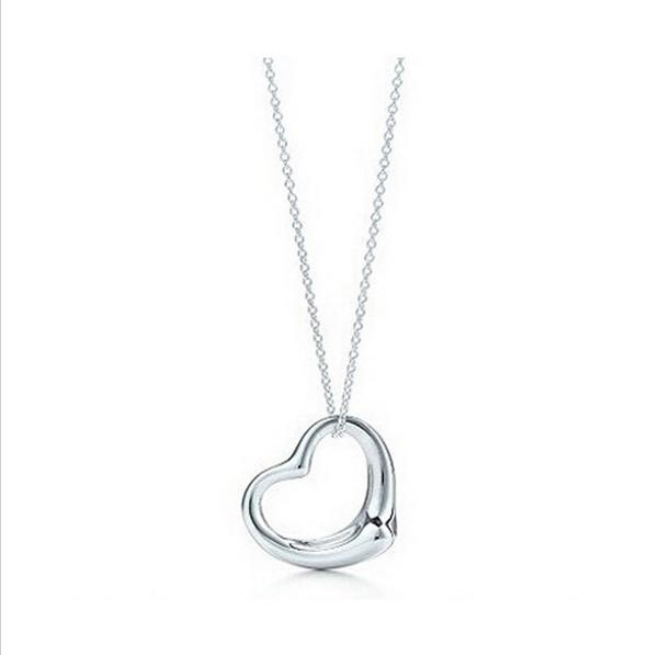 2018 2016new popular high end jewelry necklace silver plated peach 2018 2016new popular high end jewelry necklace silver plated peach heart pendant necklace jewelry best friends heart gifts for women from dh1228064772 aloadofball Images