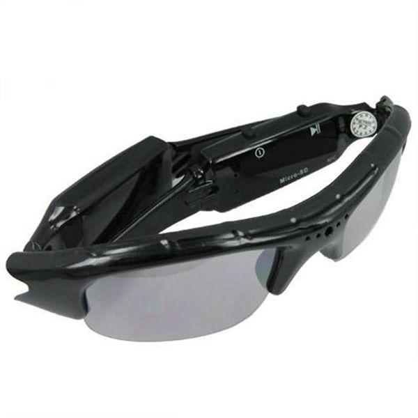 Fashion Sunglasses camera Multi-functional Mini Eyewear Video DVR Camera glasses Video Recorder SunGlasses Mini DV with retail box