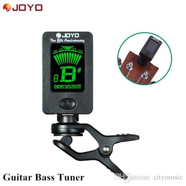 JOYO JT-01 كليب على موالف رقمي 360 درجة للتدوير آلات الغيتار المستقبلون لوني لباس غيتار الكمان القيثارة