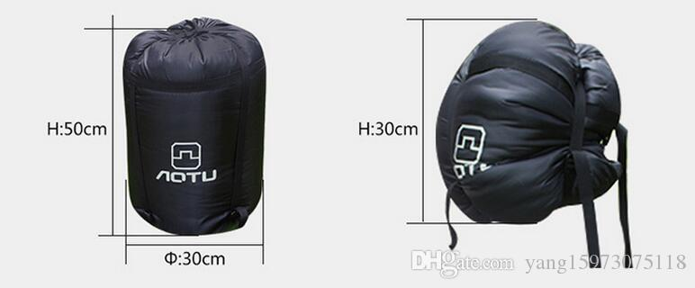 AOTU Outdoor Camping Hiking Double Sleeping Bag with 2 Pillows Autumn Winter Thermal Double Sleeping Bag Best Price 177