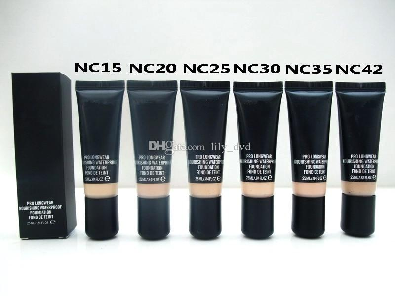 HOTsale NEW Makeup Pro Longwear Nourishing Waterproof Foundation Fond DE Teint 25ml DHL