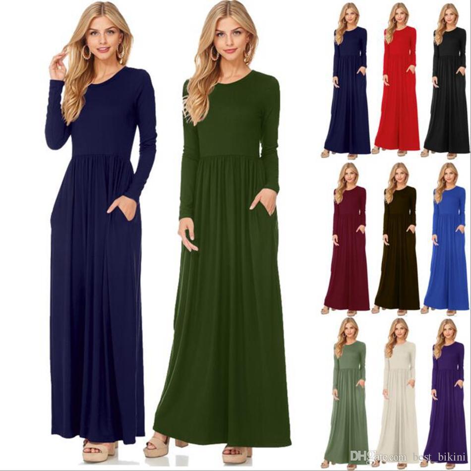 Solid Color Formal Dresses