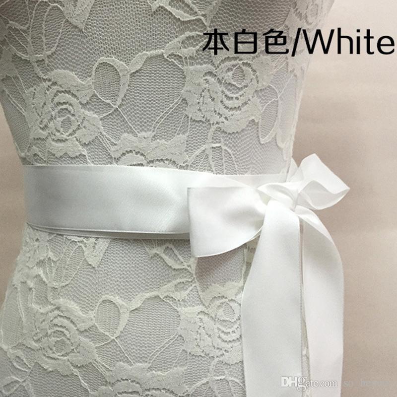 Bridal Sash Wedding Princess Rhinestone Belt Girl Flower Bridesmaid Dress Sash Wedding Accessories Multi Color Ribbon