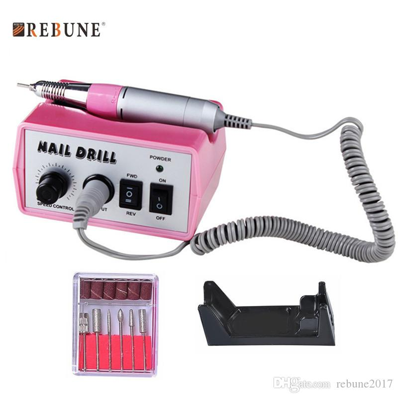 Rebune Pro 40w 35k Rpm Electronic Nail Gel Remover Machine Set ...
