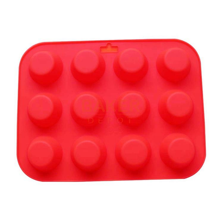Whole Diy Silicone Cake Mould 12 Round Mold In Cups Jelly Pudding Chocolate Heat Resistance Cdsm 152 By Sakuna Dhgate