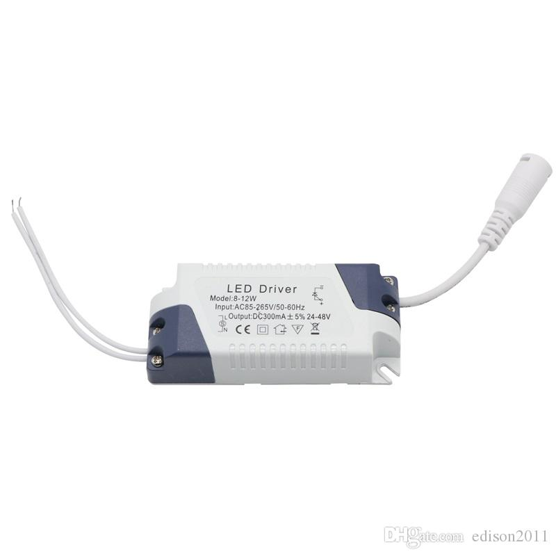 Edison2011 9W LED Luces de panel LED no dimmable Ultrathin SMD2835 Downlights AC85 ~ 265V Cálido / fresco blanco con luces de techo de conductor LED