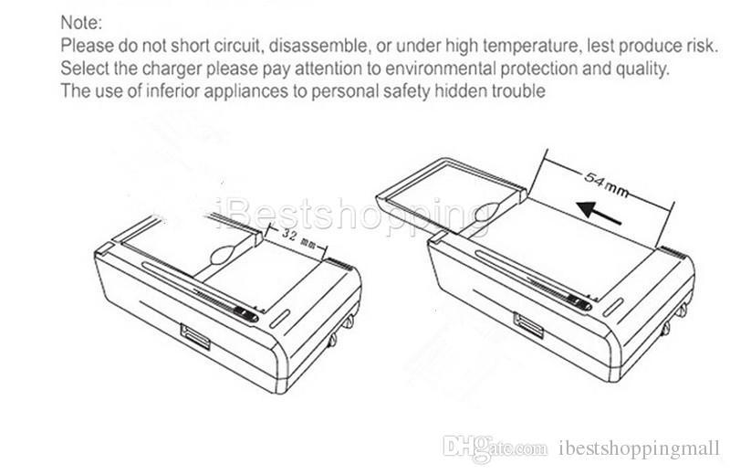 Evrensel Akıllı LCD Gösterge batarya şarj için Samsung S4 I9500 S3 I9300 NOT Usb Çıkışı Şarj ABD, AB fişi ile 3 S5