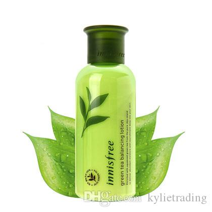 Famous Brand Innisfree Green Tea Balancing Lotion for Skin Moisturing 160ML Skin Care Cream Free Shipping Hot Sale