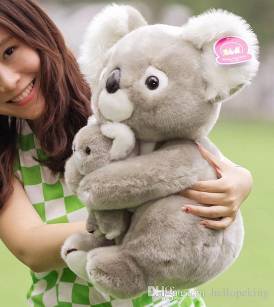 2019 Top Quality 40cm 16 Big Koala Bear Stuffed Animal Plush Soft