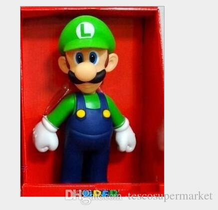 Mario bros. PVC doll toys Mario Luigi Koopa Troopa figure and mushrooms
