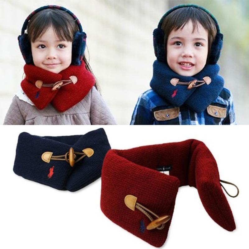 314d5ad60005 Wholesale- Winter Autumn Baby Scarf Cotton Children Neck Wrap