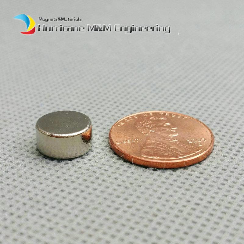 1 pack N42 NdFeB Magnet Disc Diameter 10x5 mm about 0.39'' Strong Neodymium Magnets Rare Earth Magnets Permanent Lab Magnets