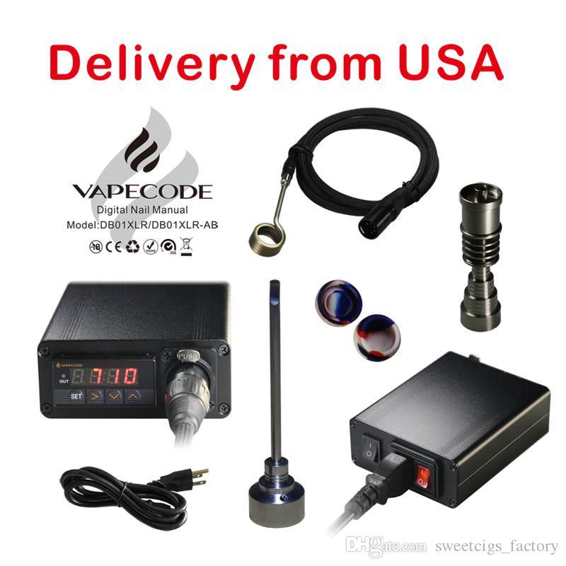 Vapecode Electric E Dab Nail Temperature Control Box Wax