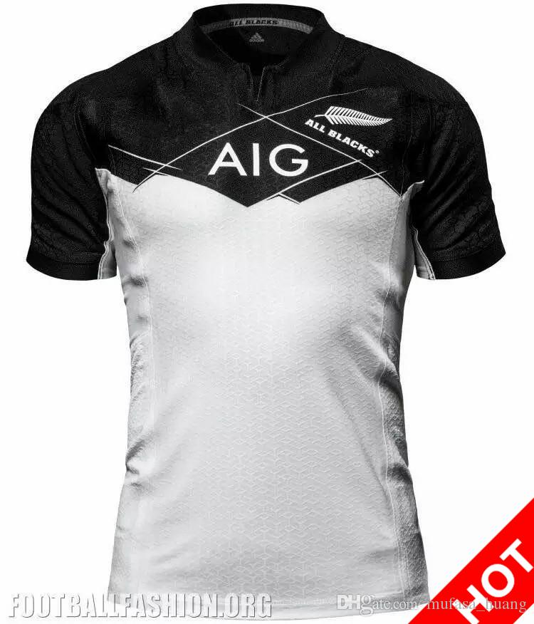 296ad558b51 New Zealand 2017 Rugby World Cup Jerseys All Blacks RWC Rugby Jersey ...
