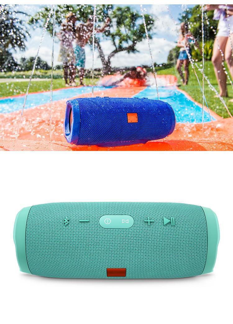 universais alto-falantes sem fio Bluetooth Speaker Portátil impermeável subwoofer ao ar livre Built-in 2400mAh bateria recarregável para o smartphone pc