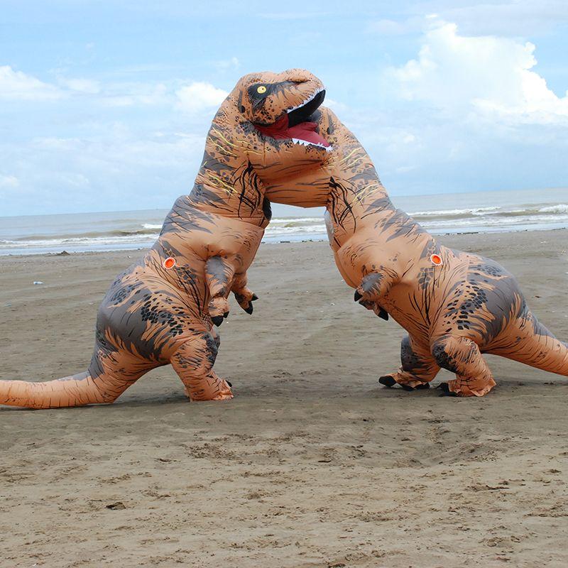 hot sale inflatable dinosaur t rex costumes for women blowup t rex dinosaur halloween inflatable costume mascot party costume for adult halloween themed