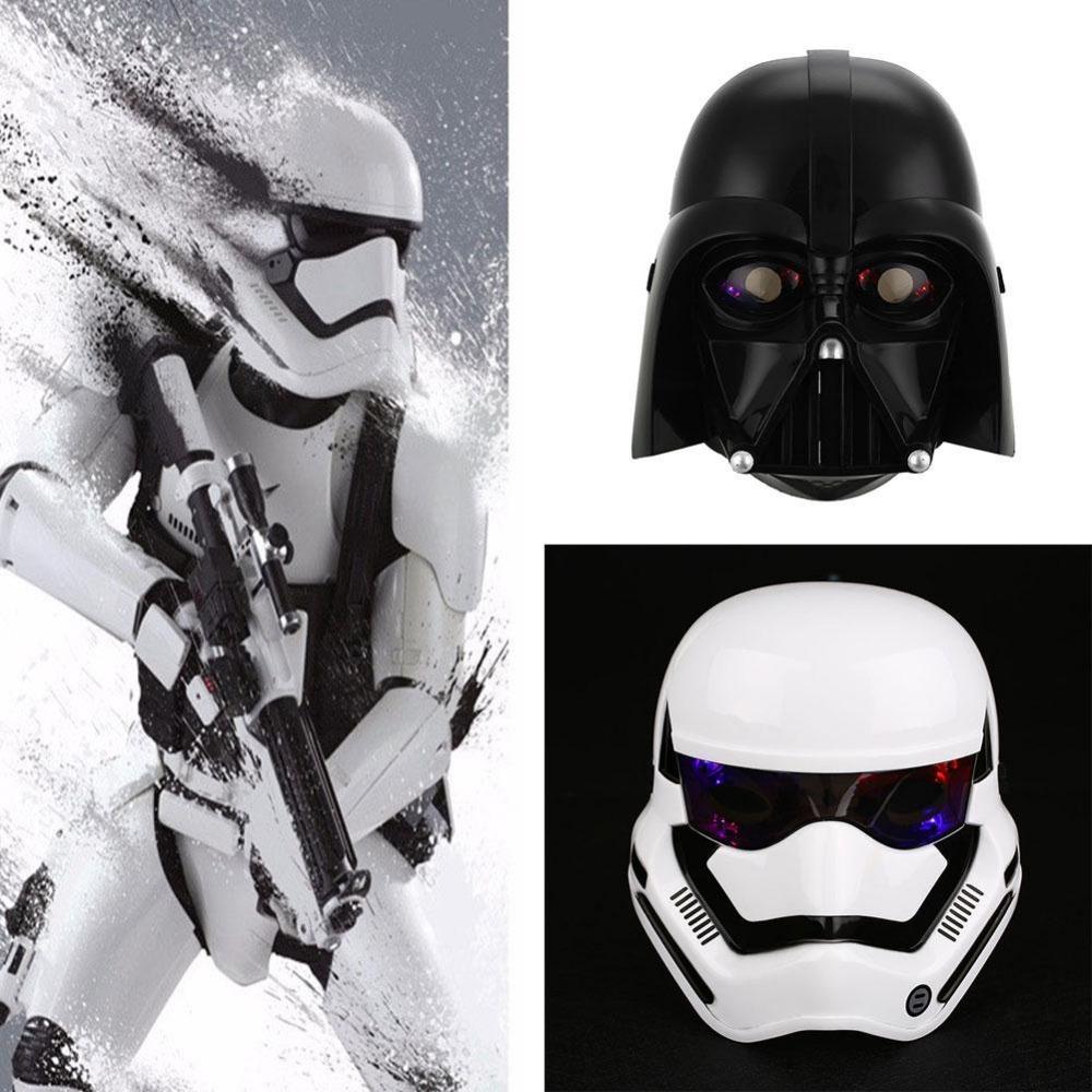 New Star Wars Led Light Stormtrooper Mask Helmet Dress Up Costume ...