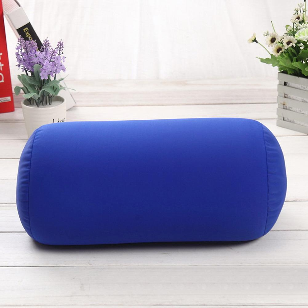 2016 Newest 35x17CM Pillow Micro Mini Microbead Pillow Column Mini Neck Roll Pillows Travel Pillow Microbead Cushion Home Decor