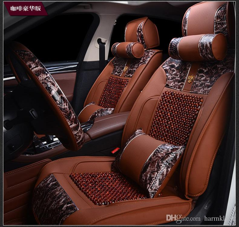Wooden Bead Car Cushion Dedicated Bmw 5 Series 7 Series 3 Series New ...