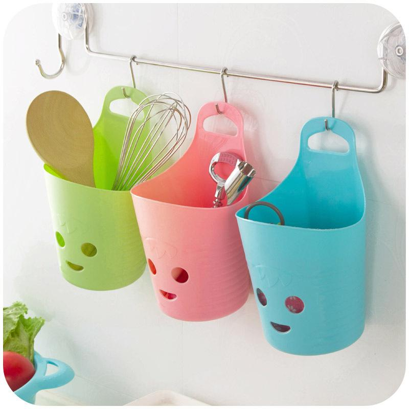 2018 New Arrived Smiling Face Hanging Storage Baskets Plastic Bathroom Storage  Basket From Huaicai03, $8.04 | Dhgate.Com
