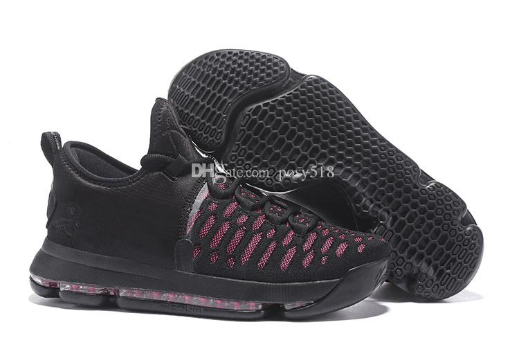 quality design 0ef75 b0b4e ... coupon code acheter kd 9 tante perle noir rose basketball chaussures  hommes 2017 nouveau kds kd9