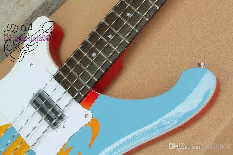 plants sell directly NEW Left hand Bass 4003 Bass white Electric bass Guitar