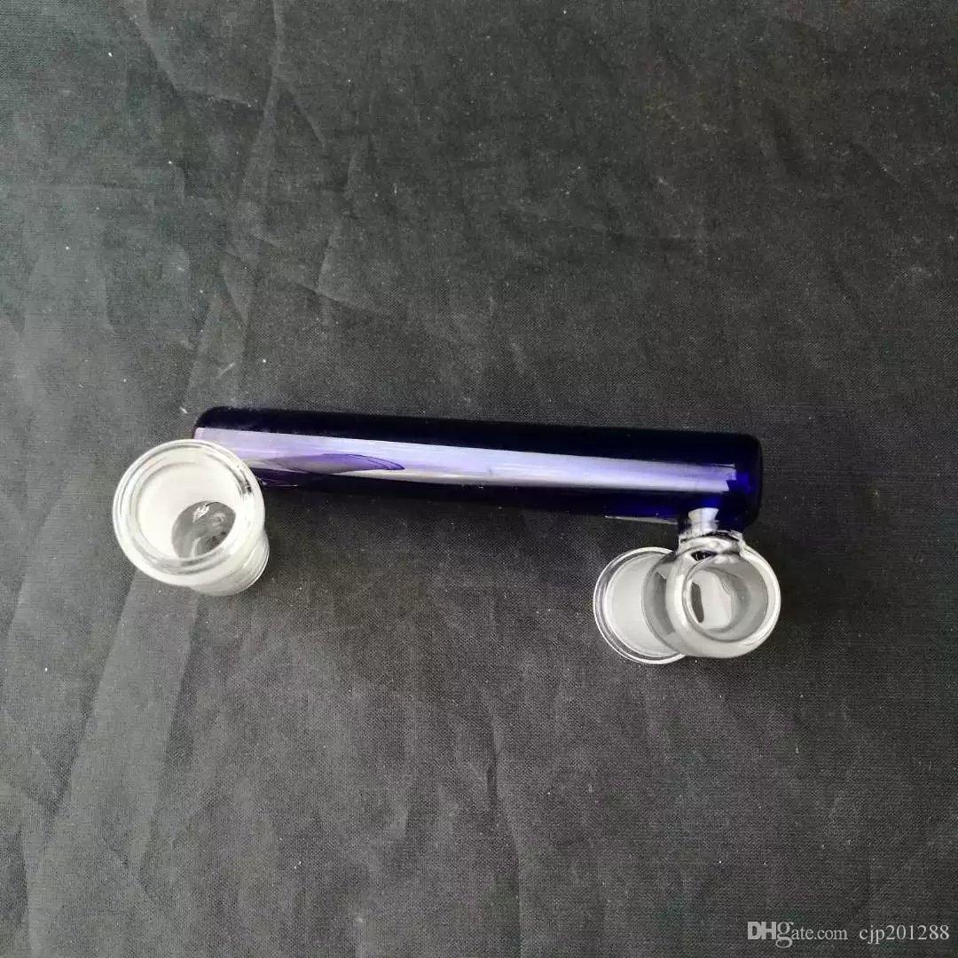 Blu bong adattatori accessori, unico del bruciatore a nafta di vetro Bong Tubi Tubi di acqua di vetro tubo di olio Rigs fumatori con contagocce