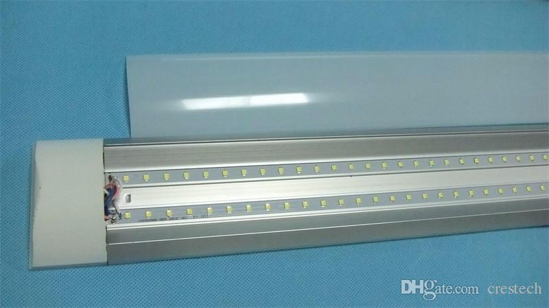 Slim line LED Batten Linear Light Tube Purification LED tube light For  indoor using home office supermarket surface mounted ceiling light