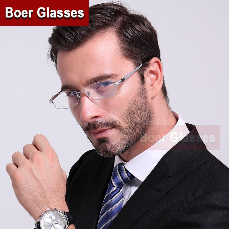 93c57c75927 2019 Wholesale Full Rim Pure Titanium Men S Eyeglasses Frame Eyewear  Prescription Glasses YASHILU 8835 54 18 140 From Zhijin