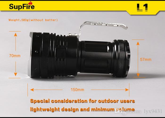 5 LED FLashlight Waterproof High Power Hunting Fishing Torch 3800 Lumens CREE T6 Rechargeable Outdoor Handy Portable Emergency Flash Light