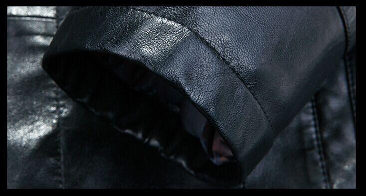 Hommes Véritable Veste En Cuir Manteaux D'hiver Véritable Raton Laveur Col De Fourrure À Capuche Cachemire Tops De Neige Outwear Pardessus Chaud Épais extérieur Plus La Taille