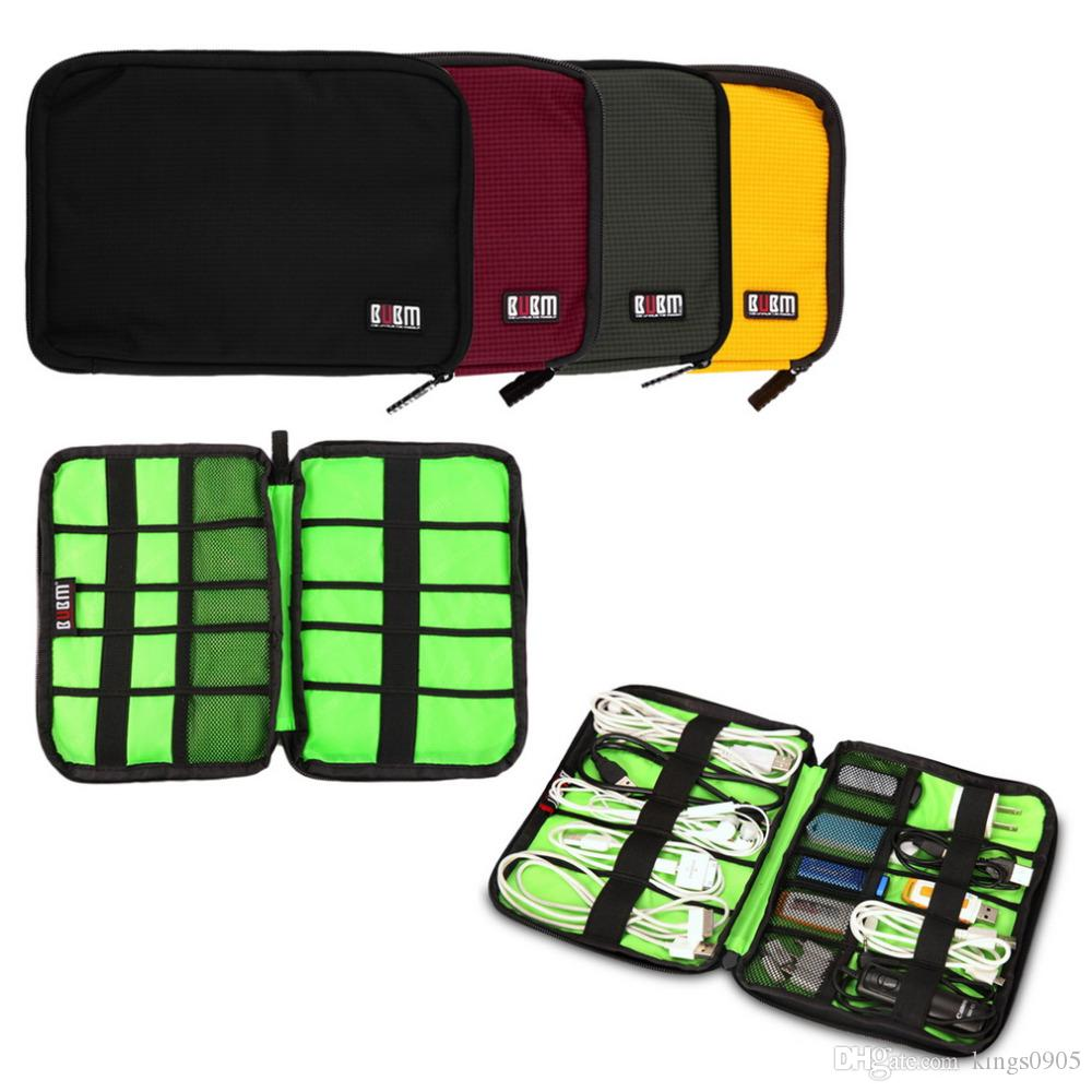 ba7231e94554 2019 Fashion Organizer System Kit Case Storage Bag Digital Gadget Devices USB  Cable Earphone Pen Travel Insert Portable From Kings0905