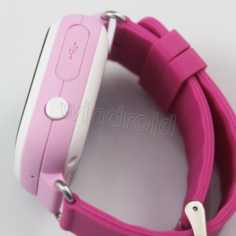 Q90 WIFI Konumlandırma GPS Akıllı İzle Çocuklar SOS Çağrı Konumu Bulucu Cihazı Izci Çocuk Güvenli Anti-Kayıp Bebek Monitörü 1.22