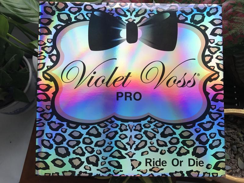 VIOLET VOSS Ride Or Die es Pro EYESHADOW PALETTE Edición limitada Paleta de sombras de ojos Envío libre de DHL 660110