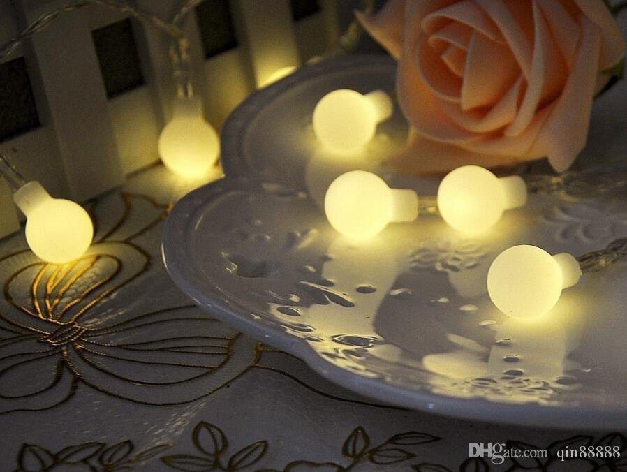10m 100 LED palle globes fata LED String Lampadine multicolor partito matrimonio giardino di natale decorazione esterna