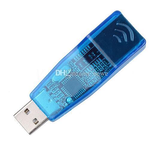 أجهزة الكمبيوتر الشبكات USB 2.0 إلى LAN RJ45 Ethernet محول بطاقة الشبكة USB إلى RJ45 Ethernet Converter لأجهزة الكمبيوتر اللوحي Win7 Win8
