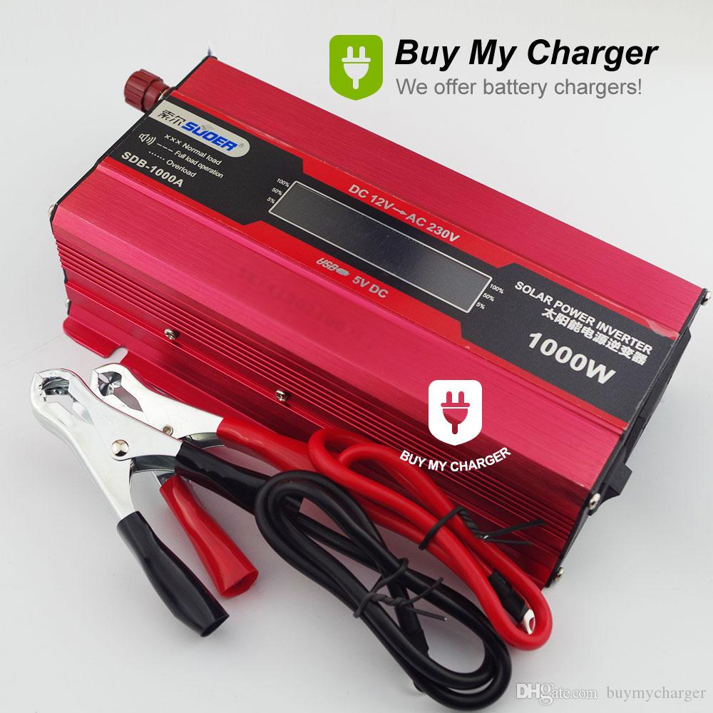 600w 1000w Peak Solar Power Inverter Dc 12v To Ac 220v Supply 1000 Watt Schematic Diagram For Reference Voltage Converter Portable From Buymycharger
