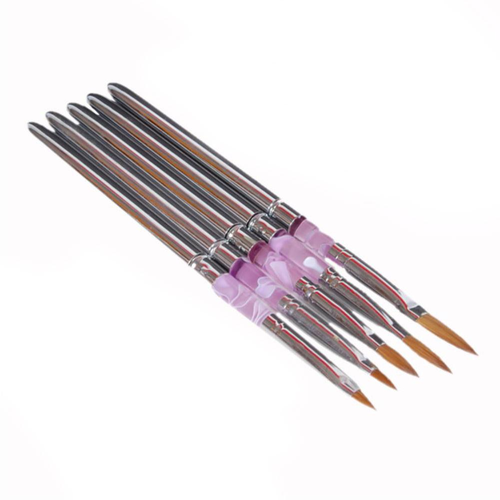Wholesale Fine Nail Art Tip Acrylic Brush Set Design Art Tips Nail
