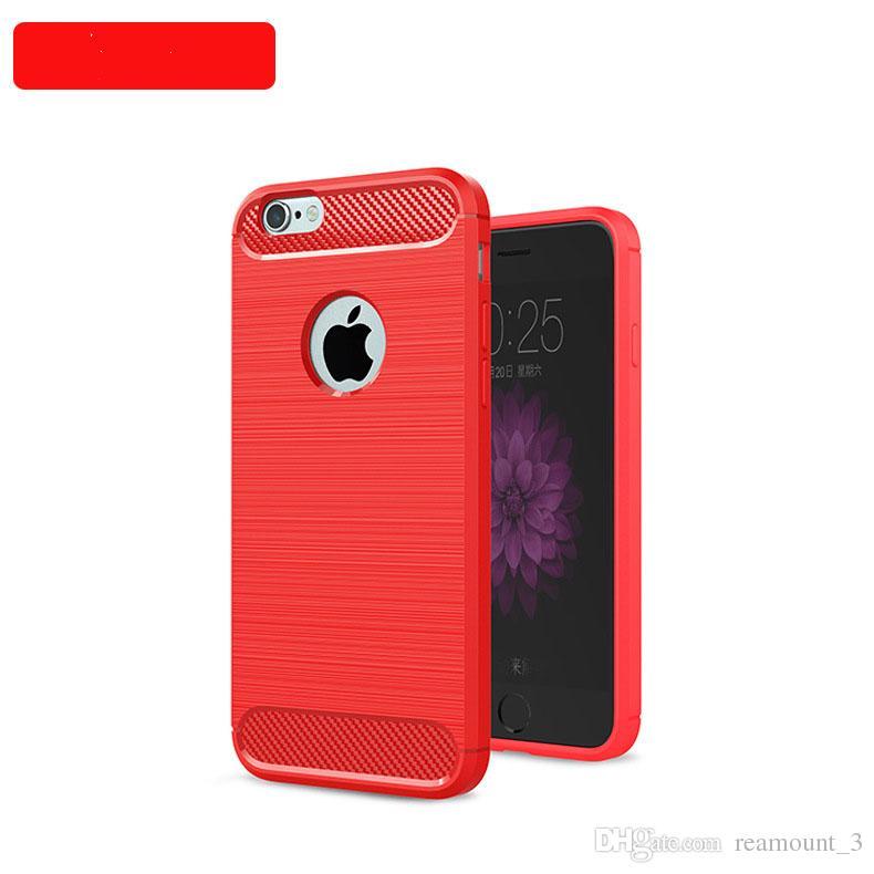Custodia morbida in TPU anti-goccia in TPU di lusso iPhone 5s 6 7 7plus Cover posteriore