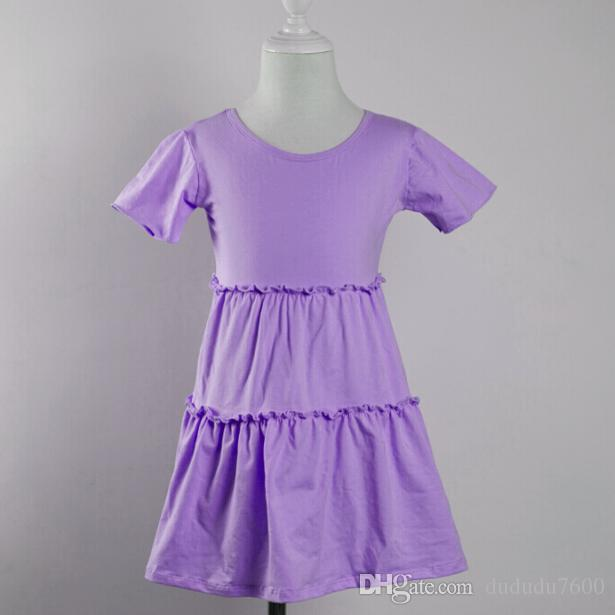 a38770eb2 Fashional Frocks Design Baby Short Sleeve Cake Dress Kids Girls ...
