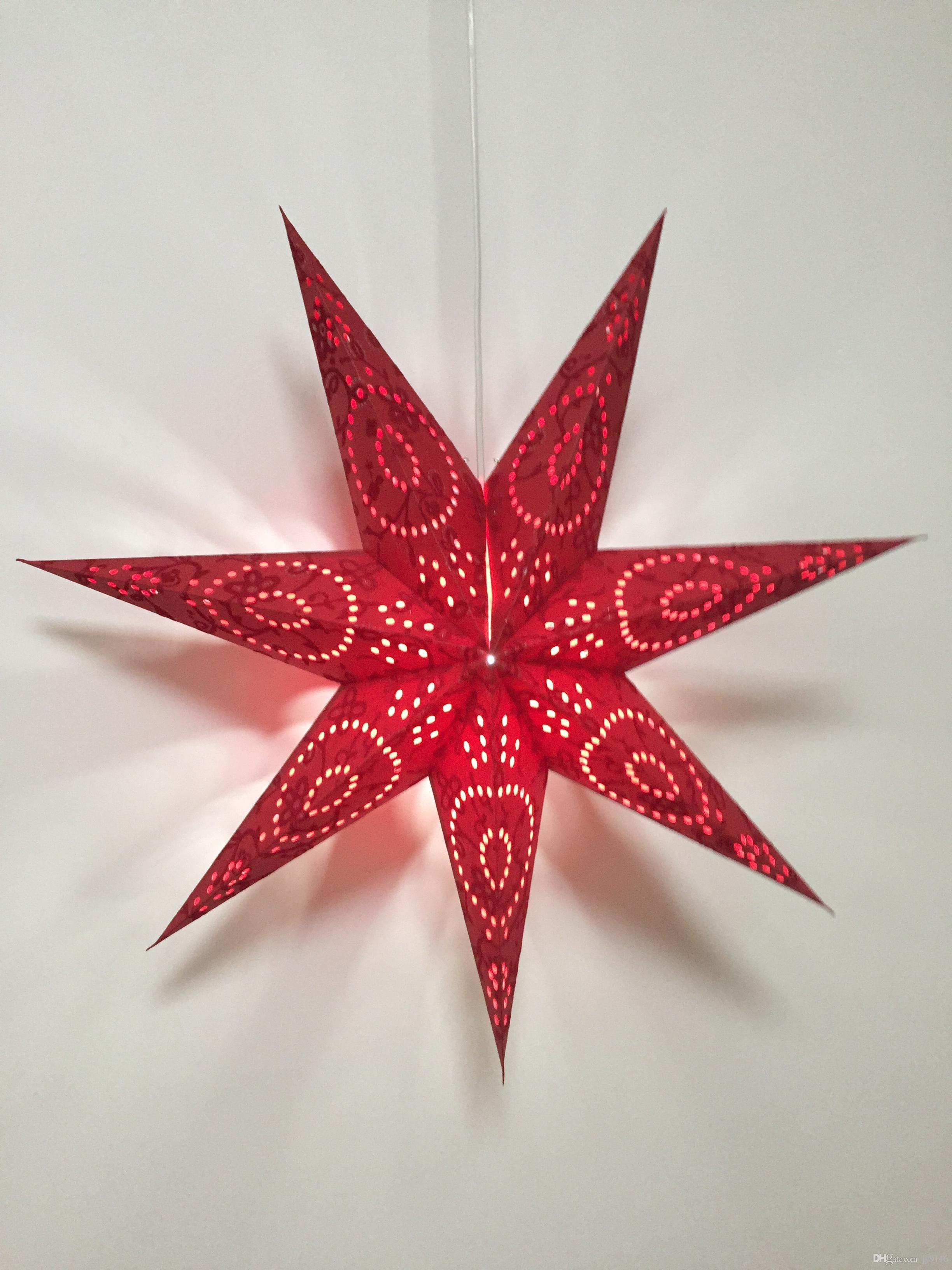 Grosshandel Durchmesser 70 Cm Papier Star Party Lampenschirm