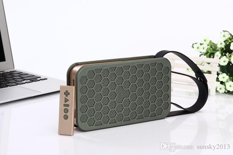 High Quality Bluetooth NFC Speaker Super Bass Wireless Portable Speakers JKR-2 6W Subwoofers with Infrared Remote Control TF MP3 Player FM