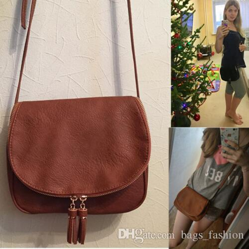 9e1f762dd24f Hot Sale Tassel Women Bag Leather Handbags Cross Body Shoulder Bags Fashion  Messenger Bag Women Handbag Bolsas Femininas Side Bags Handbag Brands From  ...