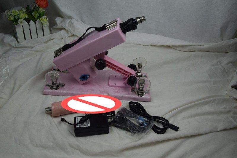 New Pink Aggiornato Climax Machine masturbation vibratore pistola macchina muto espansione automatica del sesso macchina dispositivo frequenza giocattoli del sesso dildo