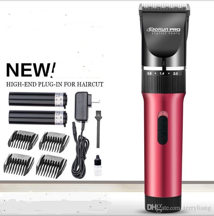 new man electric shaver mustache clipper hair clipper black ceramic shaving men precison body grooming trimmer beard trimming