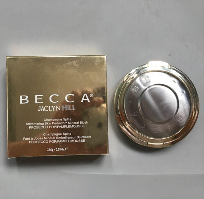 Becca Shimmering 피부 완료 4 색 크림 압착 분말 Becca Bronzer 형광펜 팔레트 오래 지속되는 자연 무료 배송