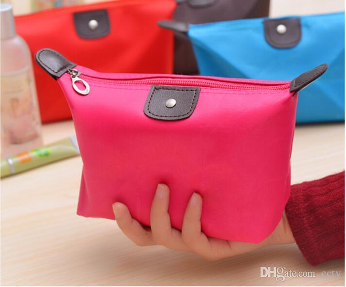 Candy Cute Cosmetic Makeup Pouch Zipper Bags Organizer Cases Clutch Bag Handbag Hanging Toiletries Travel Kit Jewelry Organizer Casual Purse