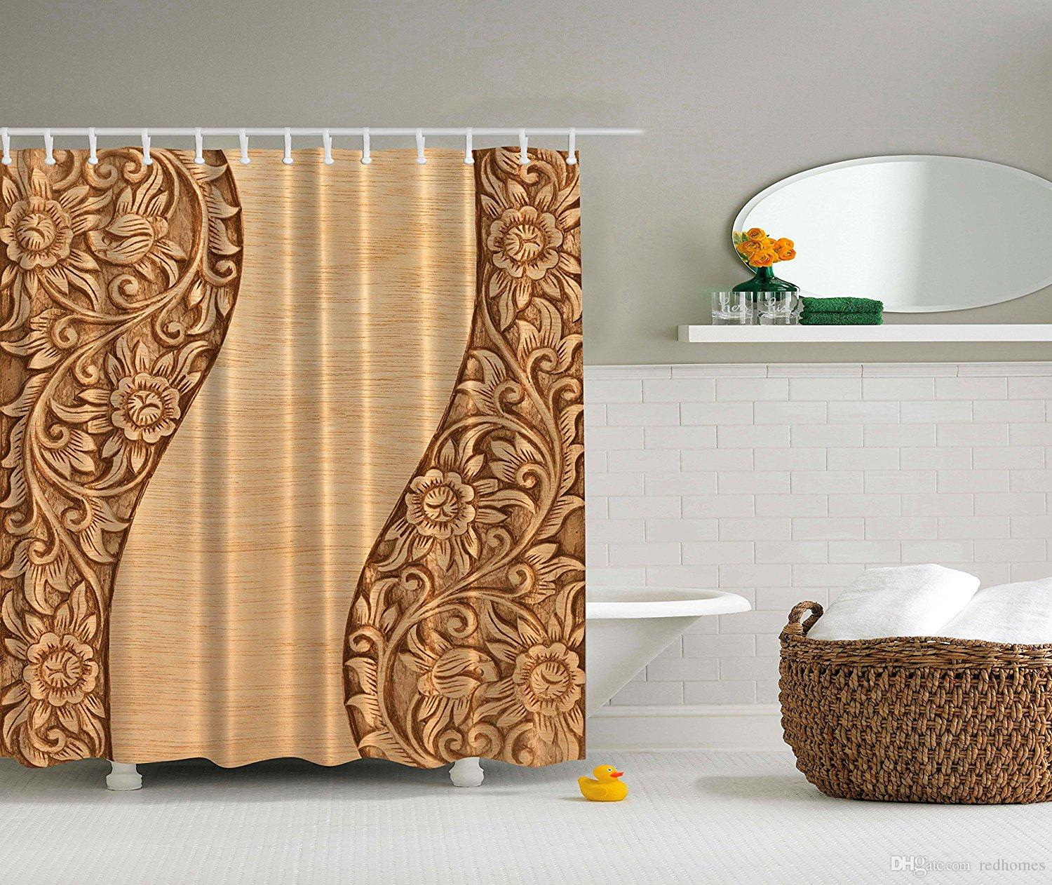 for clawfoot and curtain modern designer valance tubs curtains nytexas shower spaces unique with small