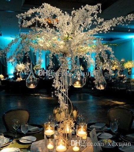 Decoration Table Mariage Arbre.Arbre De Mariage En Cristal Acrylique Haut De 150cm Centre De Table Accessoires De Mariage